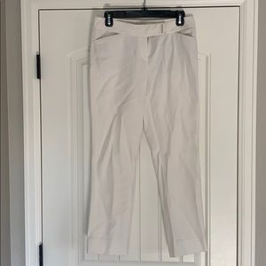 White House Black Market white pants